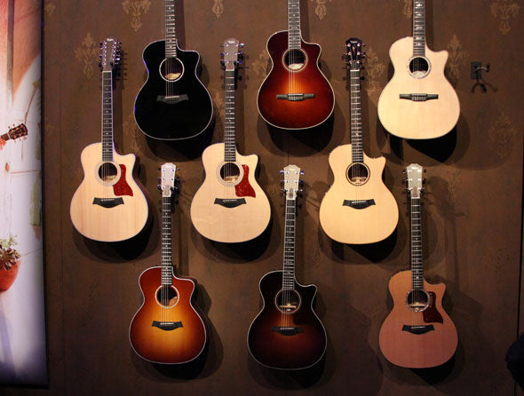 New Taylor Acoustic Guitars Line Up For 2012