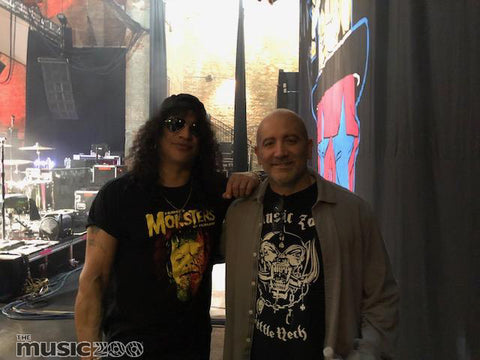 Tommy Colletti and Slash