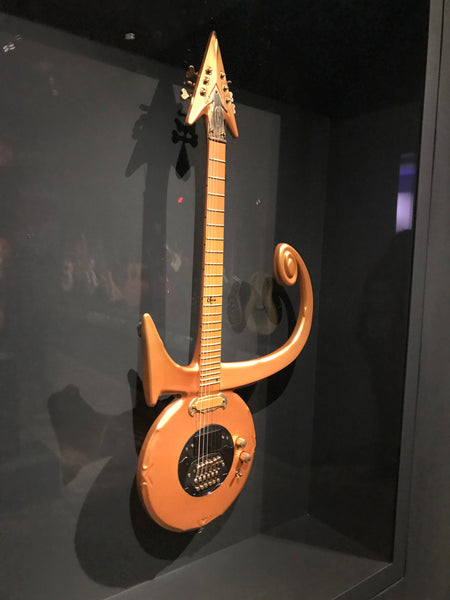 Prince's Guitar The Met - The Music Zoo