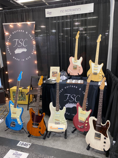NAMM 2020: FSC Guitars Are Coming To The Music Zoo