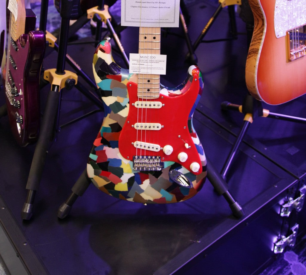 Fender custom shop patchwork guitar stratocaster
