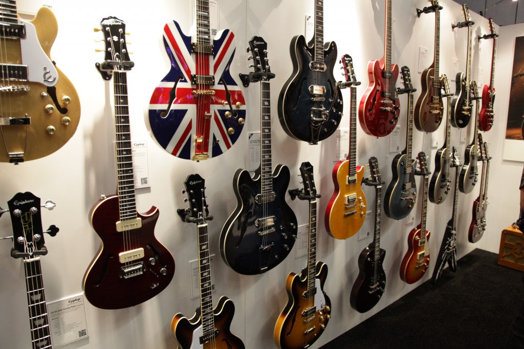 NAMM '15: New Epiphone Guitars For 2015
