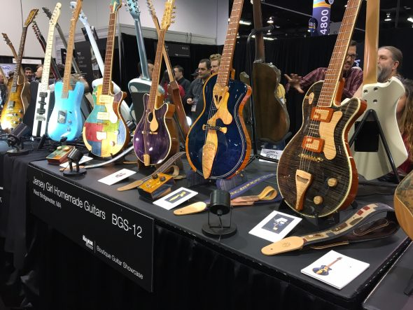 NAMM 2017: Boutique Guitar Showcase Picture Gallery
