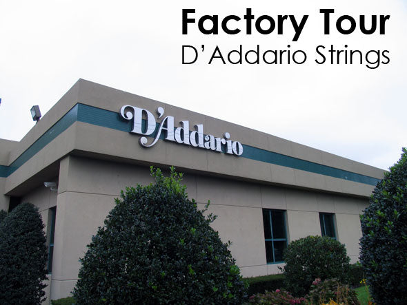 Factory Tour: D'Addario Strings