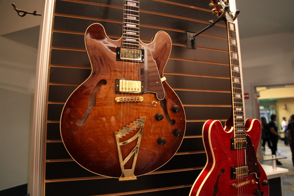 NAMM '15 D'Angelico American Pro Series NY-DC