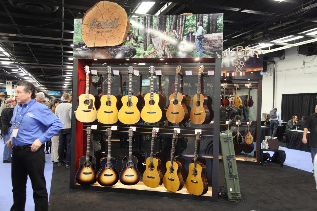 NAMM '15: New Bedell Acoustic Guitars For 2015