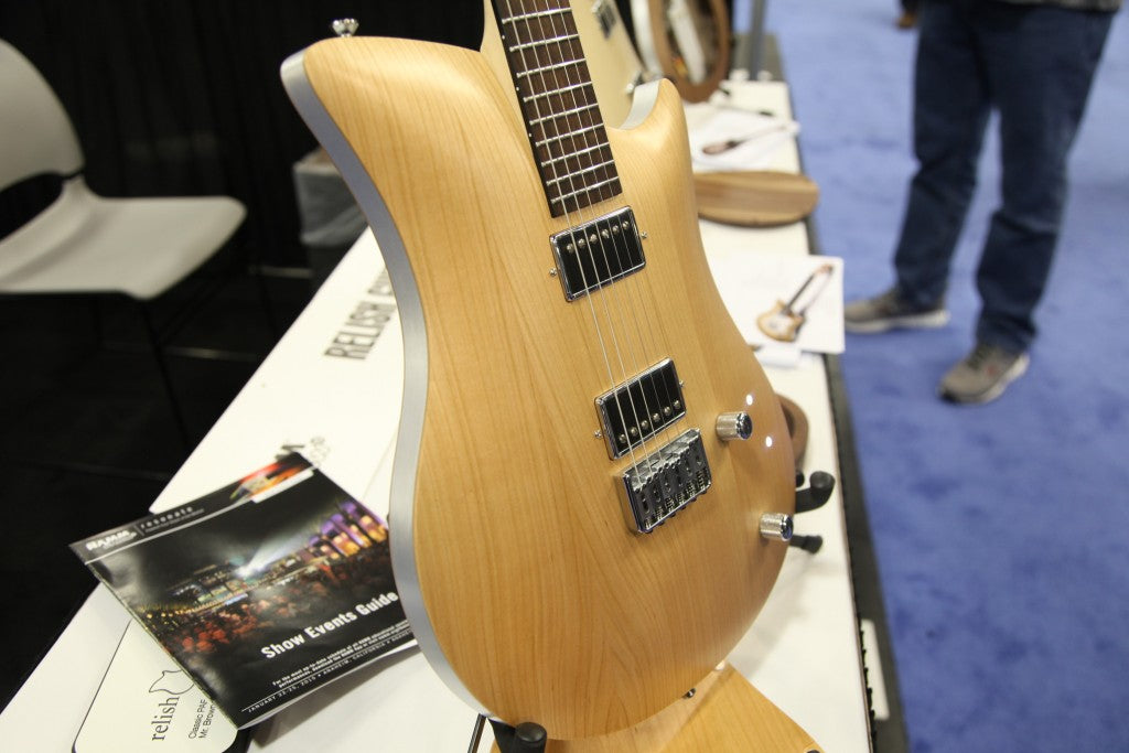 Relish Guitars Debuted At NAMM