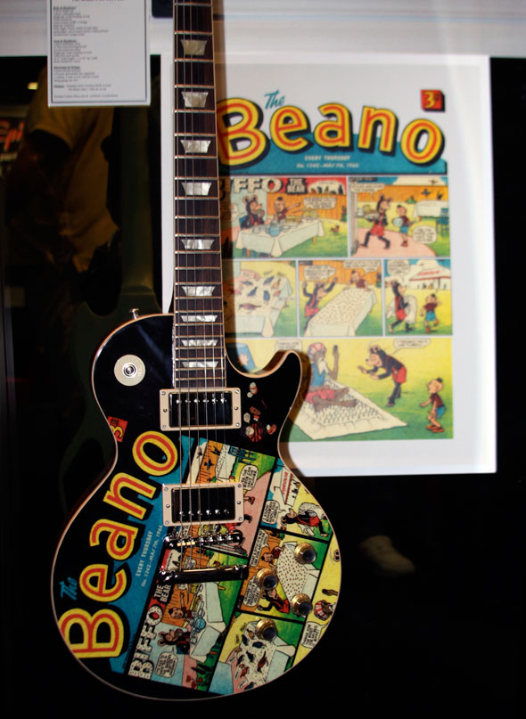 "Gibson Custom Shop ""Beano"" 1960 Graphic Les Paul"