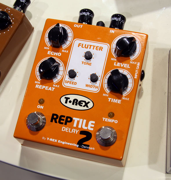 T-Rex Reptile 2 Delay: The Reptile Evolves