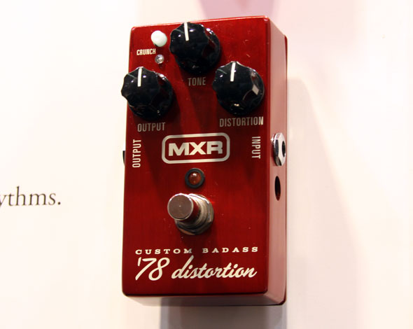 Over The Top Crunch: MXR '78 Distortion