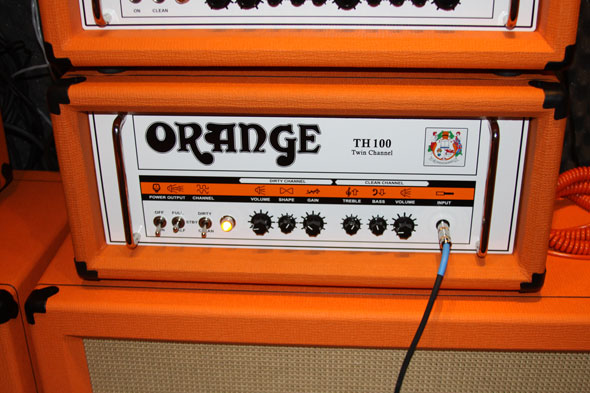 Highest Gain Ever: Orange TH 100 Amplifier