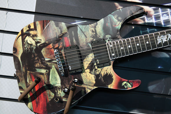 Reign In Blood: New Slayer LTD 25th Anniversary Guitar