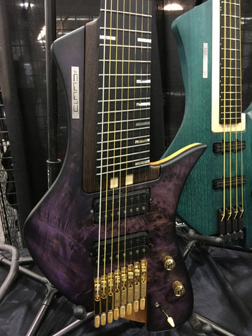 NAMM 2018: Claas Guitars and Basses from Germany