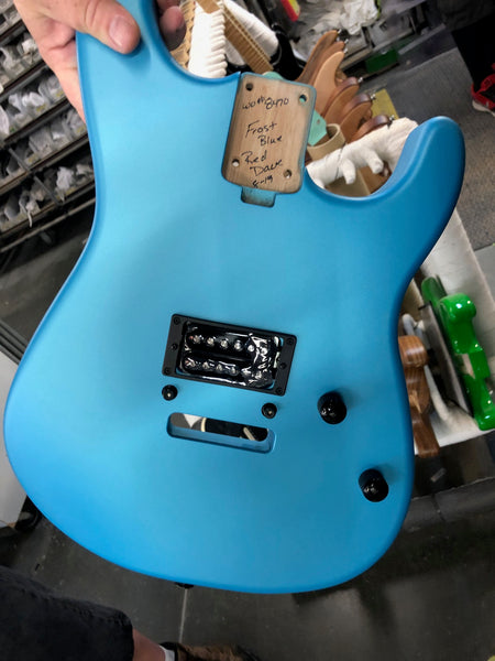 Charvel Frost Blue FU-Tone San Dimas - The Music Zoo