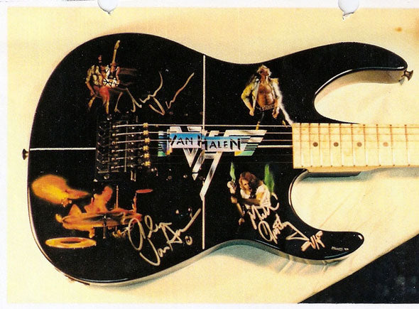 Vintage Jackson Guitar Artwork 2