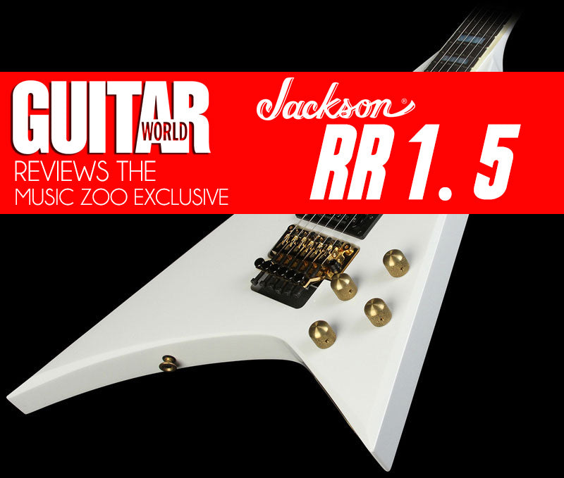Guitar World Reviews The Music Zoo Exclusive Jackson RR 1.5