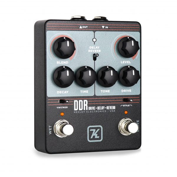 Keeley Electronics DDR Drive Delay Reverb Pedal Announced!