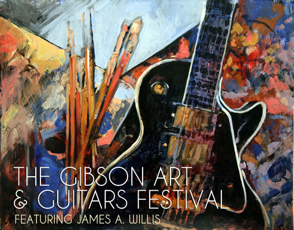 Coverage Of The Gibson Art & Guitars Festival