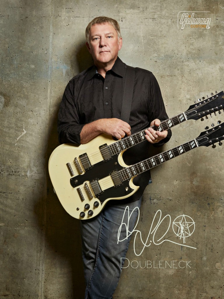 The New Gibson Alex Lifeson EDS-1275 Signature Double-Neck Guitar