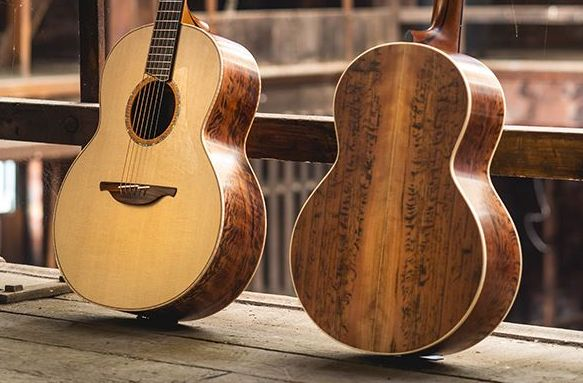Lowden Guitars Tiger Myrtle Winter 2018 Limited Edition Acoustics Unveiled!