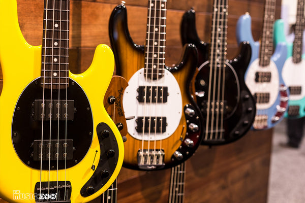 NAMM 2018: The Ernie Ball Music Man 2018 Collection