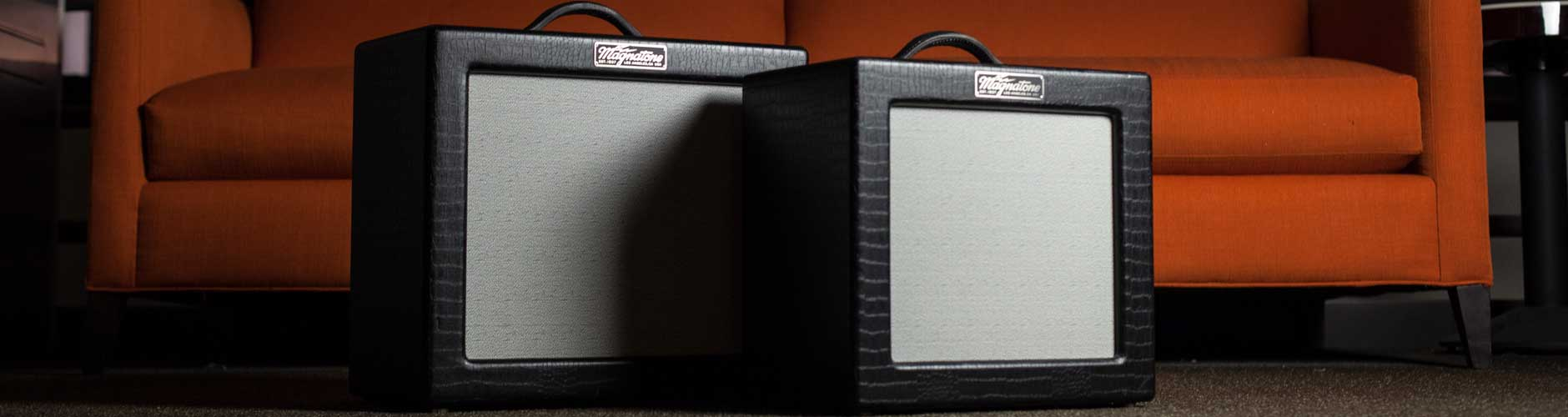 Magnatone Amplifiers At The Music Zoo