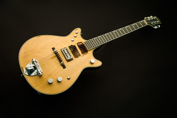 "New At The Music Zoo! Gretsch G6131MY-CS Custom Shop Malcolm Young ""Salute"" Jet!"