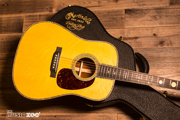 Martin Custom Shop Coin Dreadnought Acoustic Guitar Available at The Music Zoo!