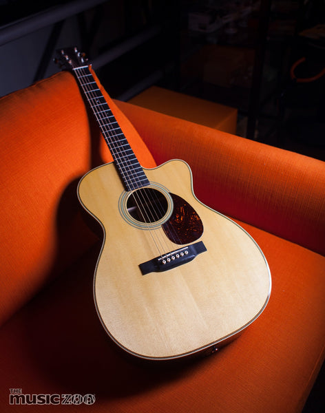Martin Guitar OMC-28E Review & Video: Acoustic-Electric Orchestra