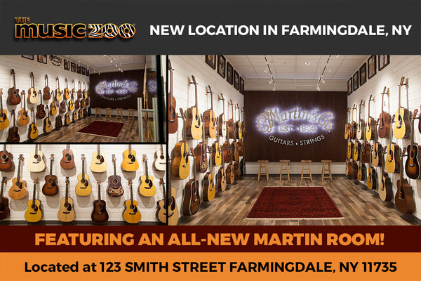 Visit The All-New Martin Showroom At The Music Zoo in Farmingdale, NY!