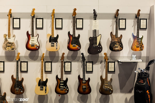 NAMM 2018: Fender Custom Shop NAMM Masterbuilt Guitars Coming to The Music Zoo