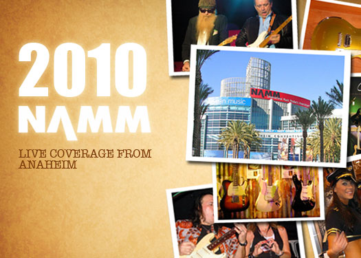 NAMM 2010: Live Coverage From Anaheim