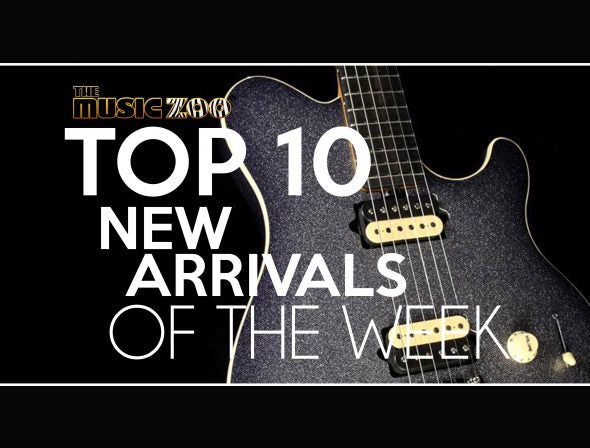 This Week's Top 10 New Arrivals At The Music Zoo!