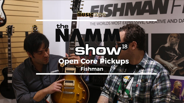 Fishman Open Core Pickups Video