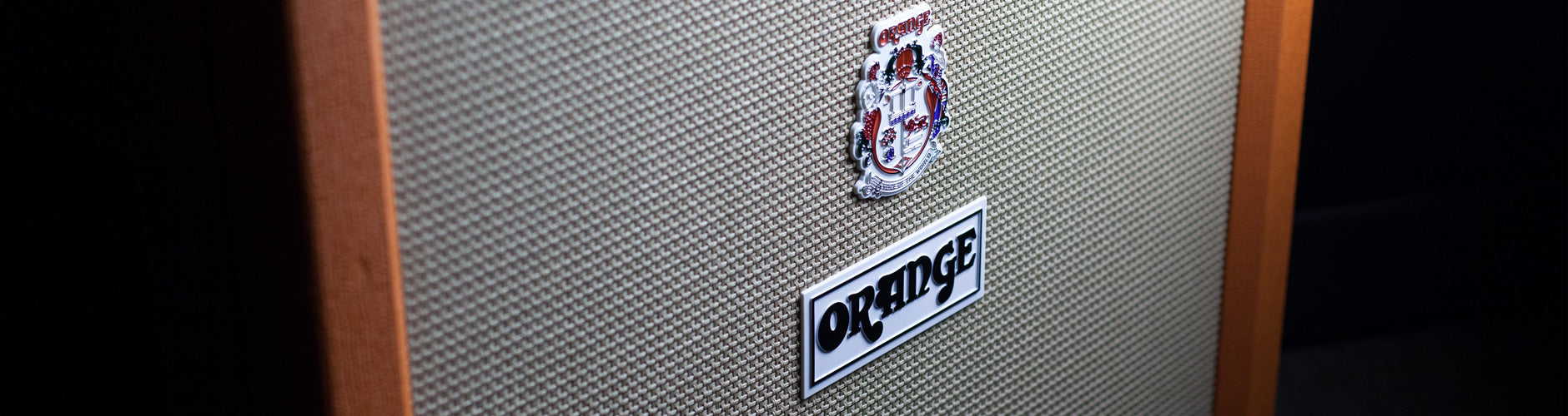 Orange Amplifiers At The Music Zoo