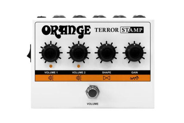 NAMM 2020: Orange Terror Stamp Pedal Released!