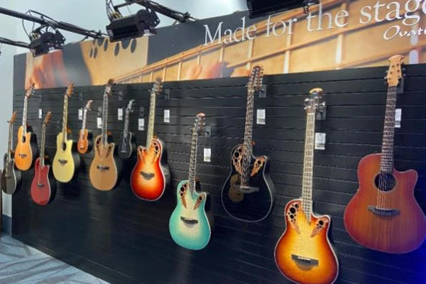NAMM 2020: Ovation Custom Shop Adamas Guitars & More Revealed!
