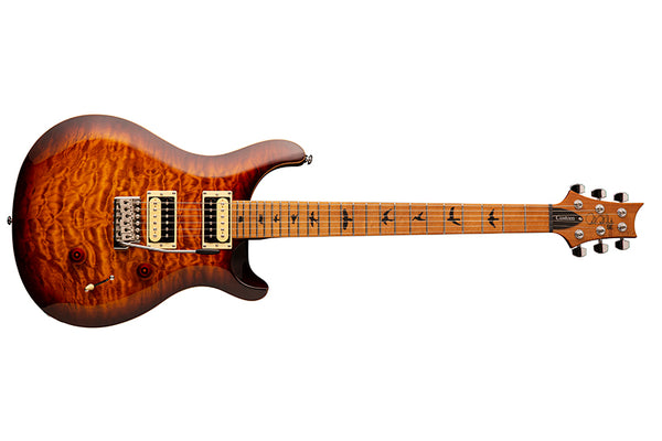 PRS SE Custom 24 Roasted Maple Tobacco Sunburst