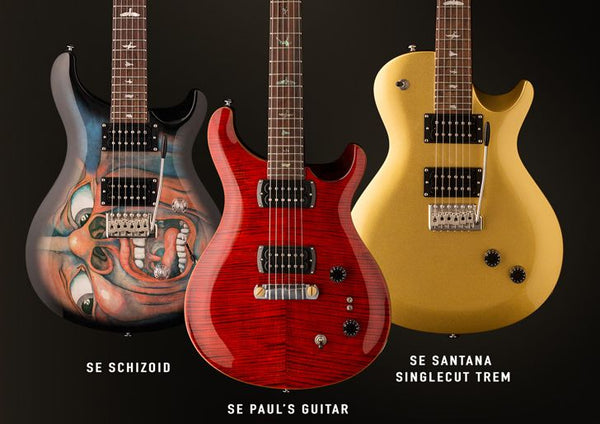 PRS SE Signature Models NAMM 2019 - The Music Zoo