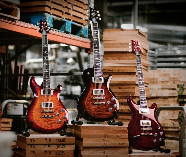Factory Tour A Look Inside The Prs Factory In Stevensville Md The Music Zoo