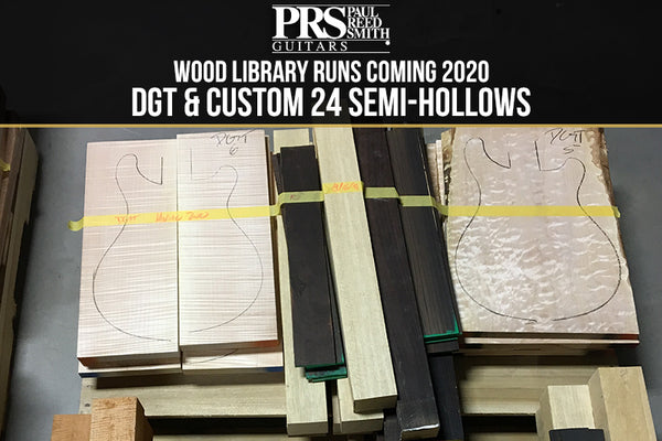 PRS Wood Library Custom 24 Semi-Hollow and DGT Guitars Coming to The Music Zoo!