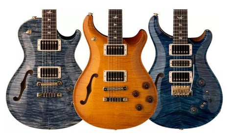 New PRS Limited Edition Semi Hollow Guitars 2018