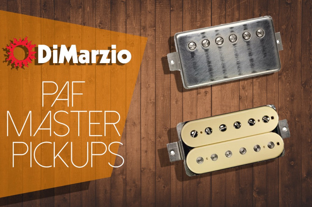 DiMarzio Releases PAF Master Pickups