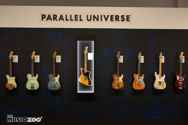 Fender Parallel Universe Strat-Tele Hybrid & Nashville Telecaster Electric Guitars Released!