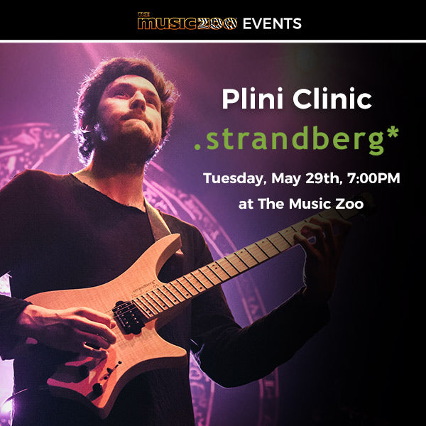 Plini Clinic / Performance Event - May 29th at The Music Zoo