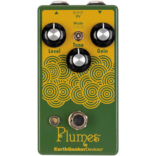 Earthquaker Devices Plumes Small Signal Shredder Announced!