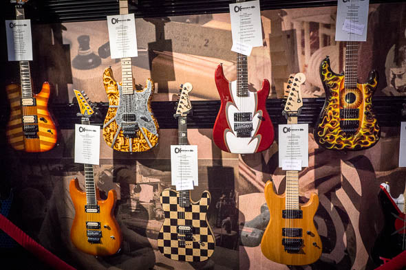 Arriving Soon: Charvel Custom Shop NAMM One Off Guitars
