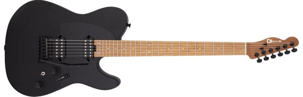 Charvel Pro-Mod So-Cal Style 2 24 HH 2PT CM Ash, Caramelized Maple Fingerboard, Black Ash