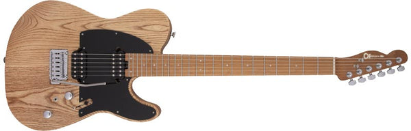 Charvel Pro-Mod So-Cal Style 2 24 HH 2PT CM Ash, Caramelized Maple Fingerboard, Natural Ash