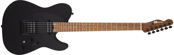 Charvel Pro-Mod So-Cal Style 2 24 HH HT CM, Caramelized Maple Fingerboard, Satin Black